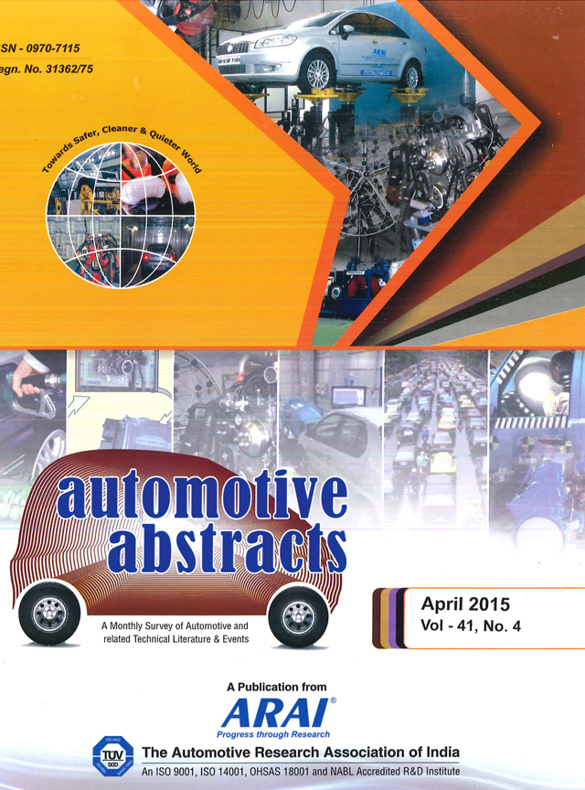 Automotive Abstracts